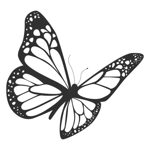 512x512 Monarch In Flight Transparent Png Clipart Free Download