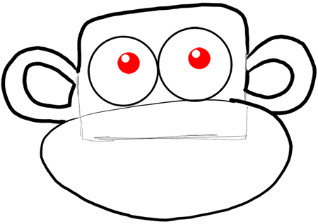 450x318 How To Draw Boots The Monkey From Dora The Explorer Drawing Lesson