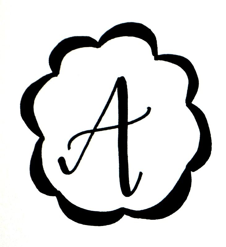 731x798 basic hand lettering drawing a monogram hand lettering
