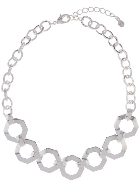 480x640 Chunky Hexagon Chain Necklace Endource