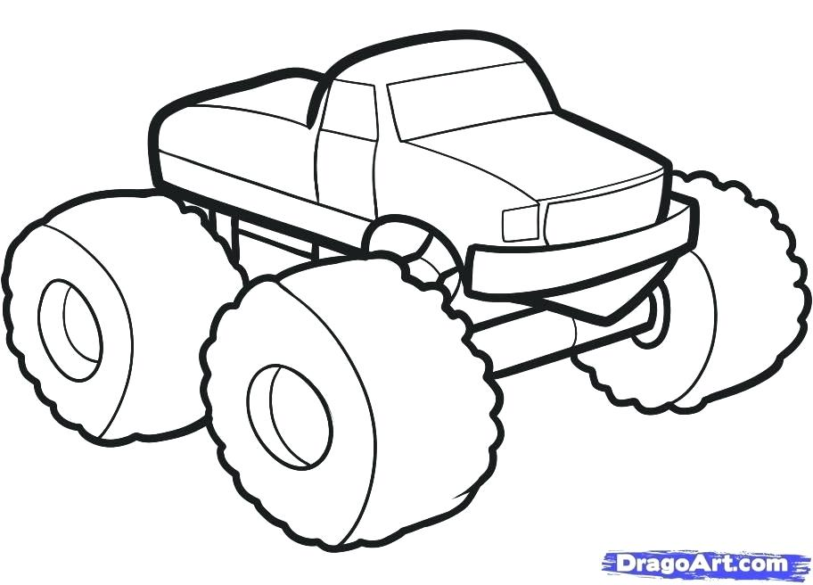 912x656 easy to draw monster truck how easy draw monster truck
