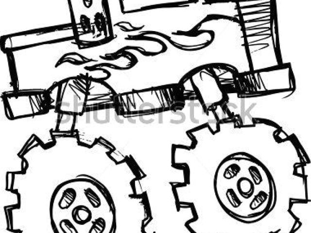 640x480 drawing easy truck how to draw a truck easy monster truck drawings