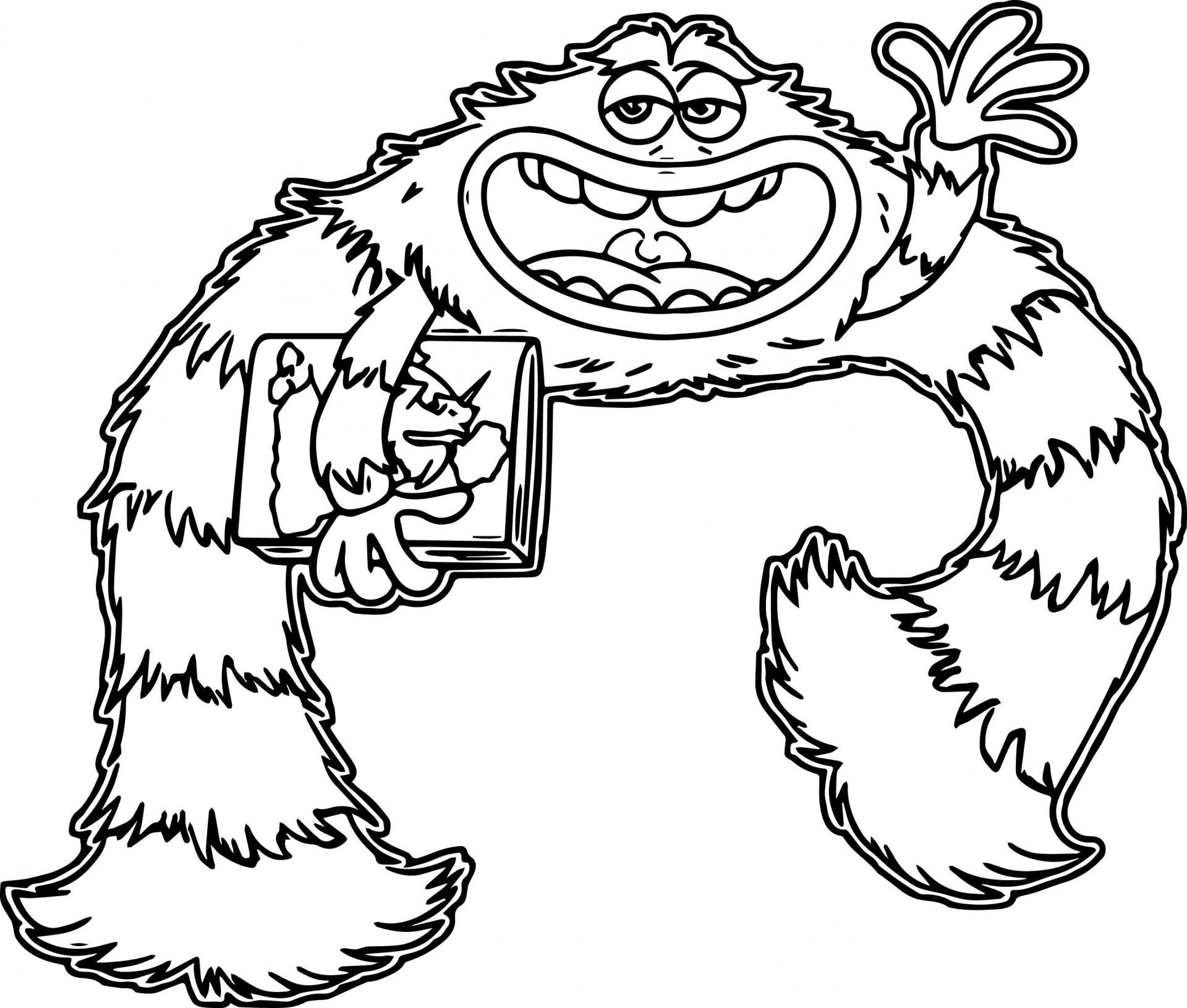 Monsters Inc Drawing   Free download best Monsters Inc Drawing on