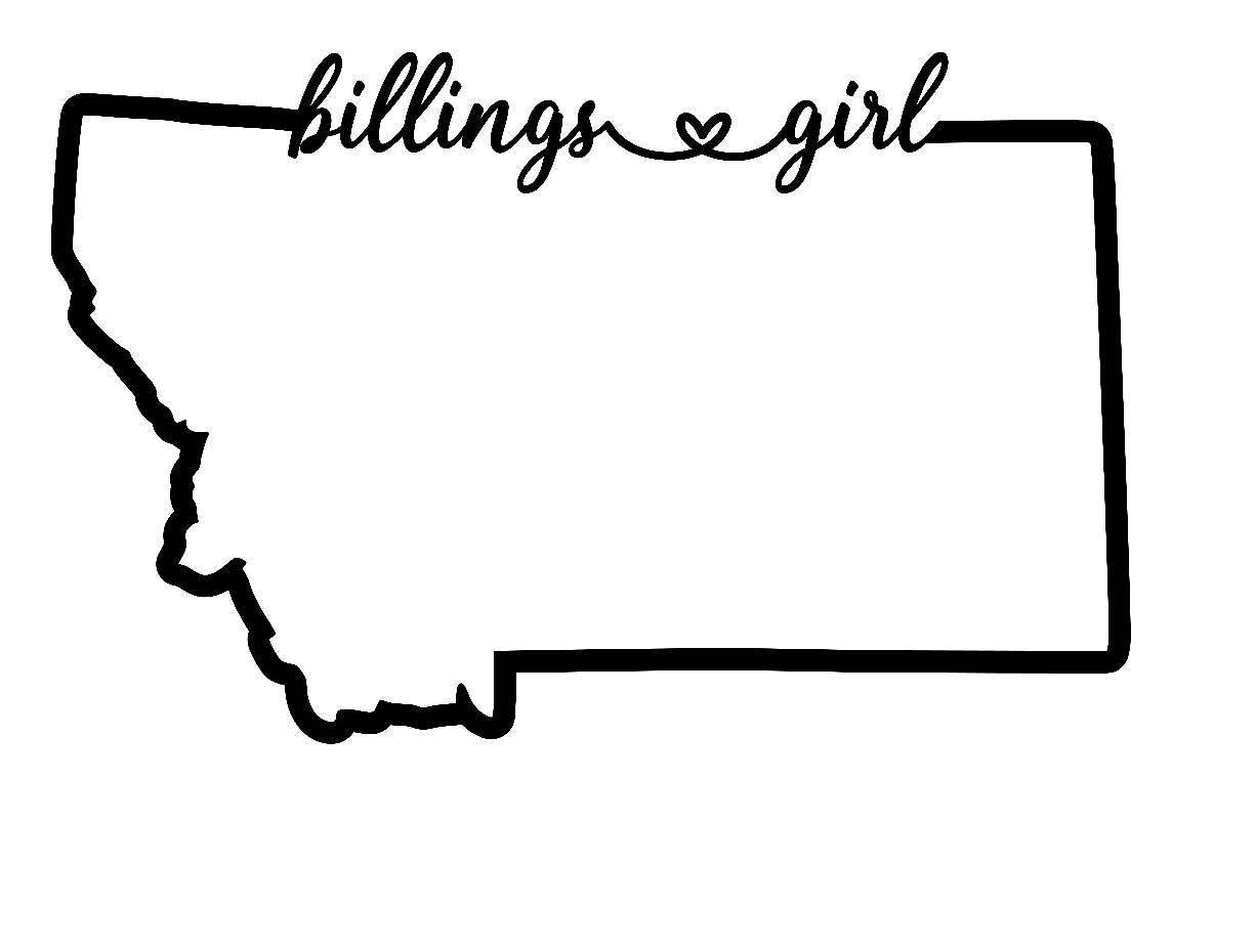 1226x930 Billings Girl Montana Vinyl Decal Jade And Lemon Boutique