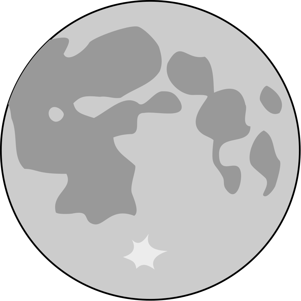 1000x1000 Draw Vector Moon Huge Freebie! Download For Powerpoint