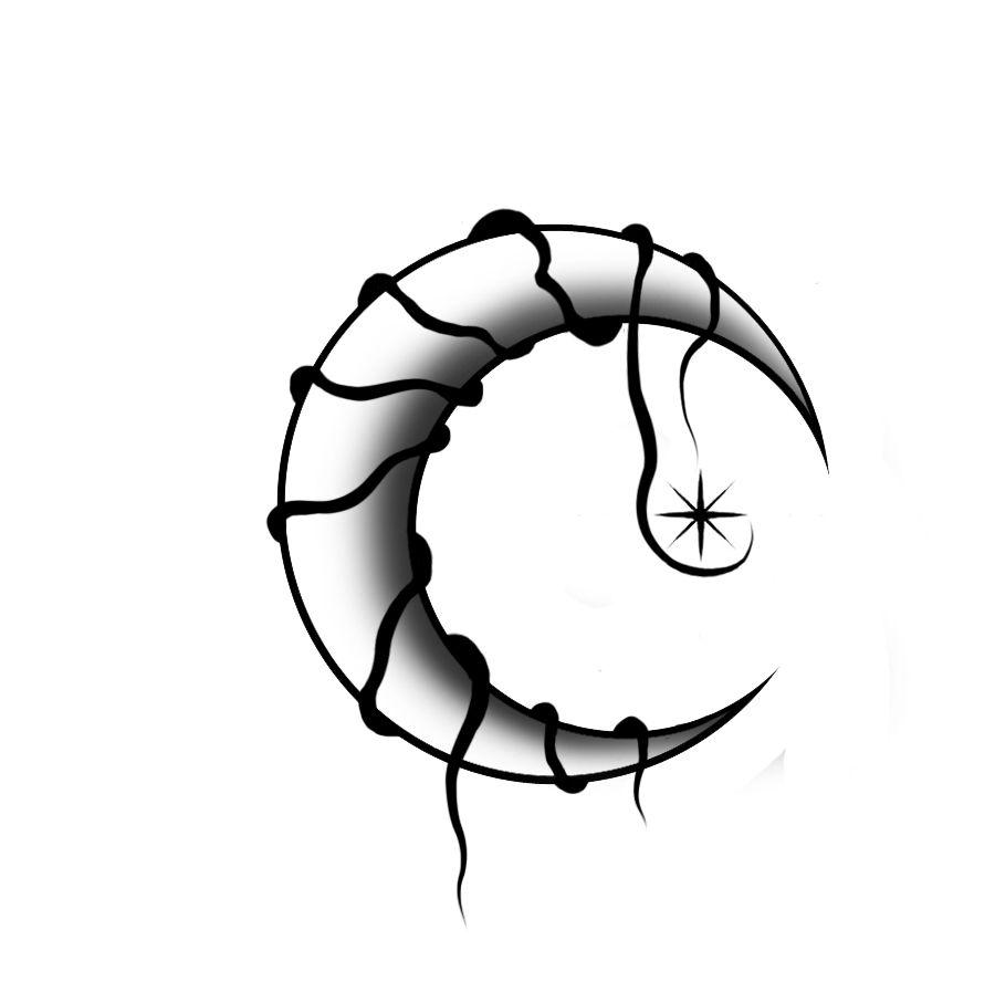 900x888 cresent moon tattoo tattoos nails cresent moon tattoo, moon