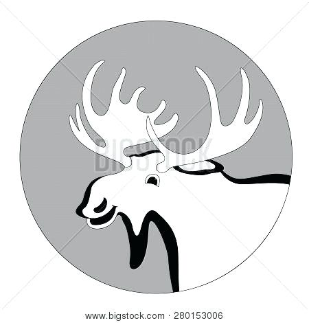 Moose Antlers Drawing Free Download Best Moose Antlers Drawing On
