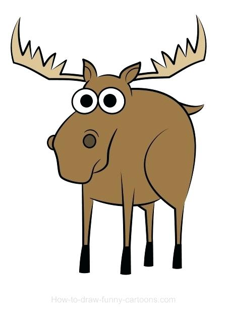 450x622 how to draw moose how to draw a moose in steps moose license