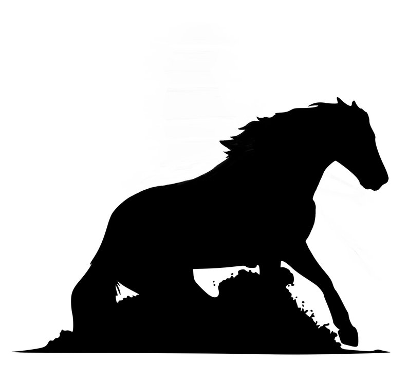 794x741 horse horse truck decal horse auto decal horse decal horse etsy