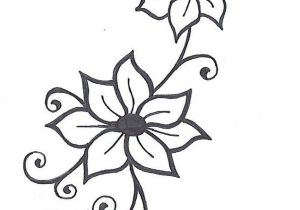 300x210 drawing flowers with vines with the e drawings of vines