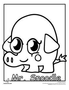 Moshi Monsters Drawings