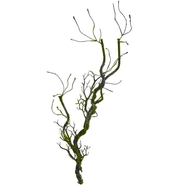 600x600 Nearly Natural Indoor Moss Twig Vine Artificial Plant