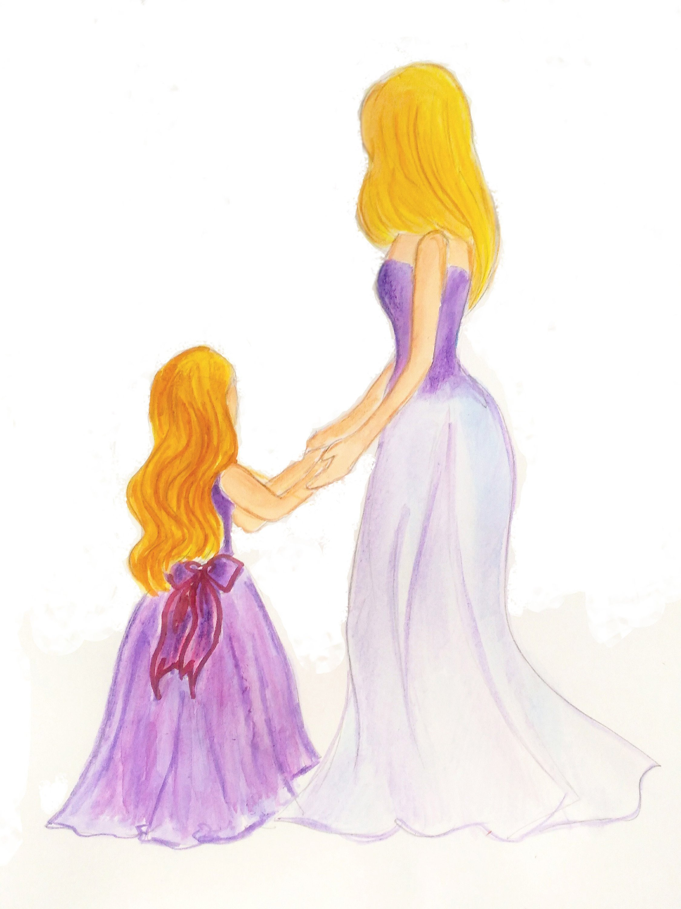 2249x3000 mother daughter artmother daugther portraitmother daughter etsy