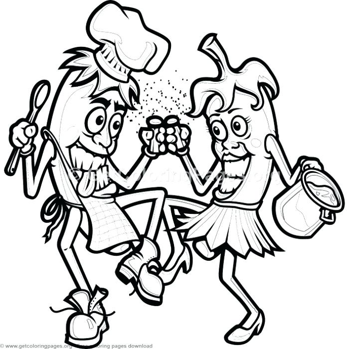 700x700 cooking coloring pages mother cooking colouring pages cooking