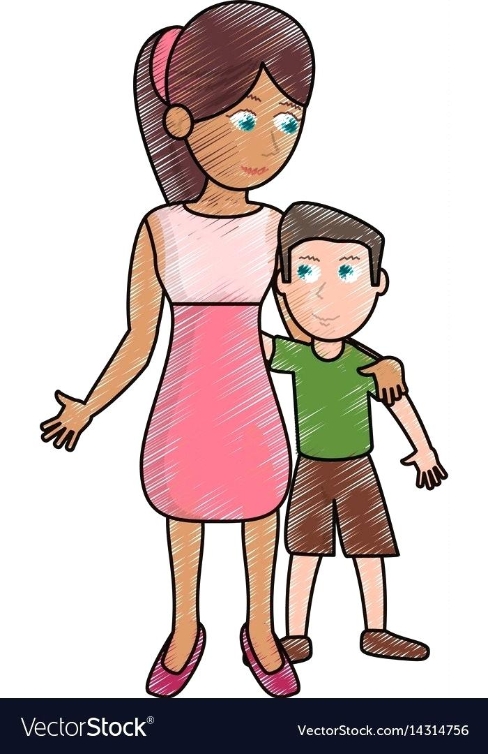700x1080 drawing of a mother mother and baby the blog drawing mother