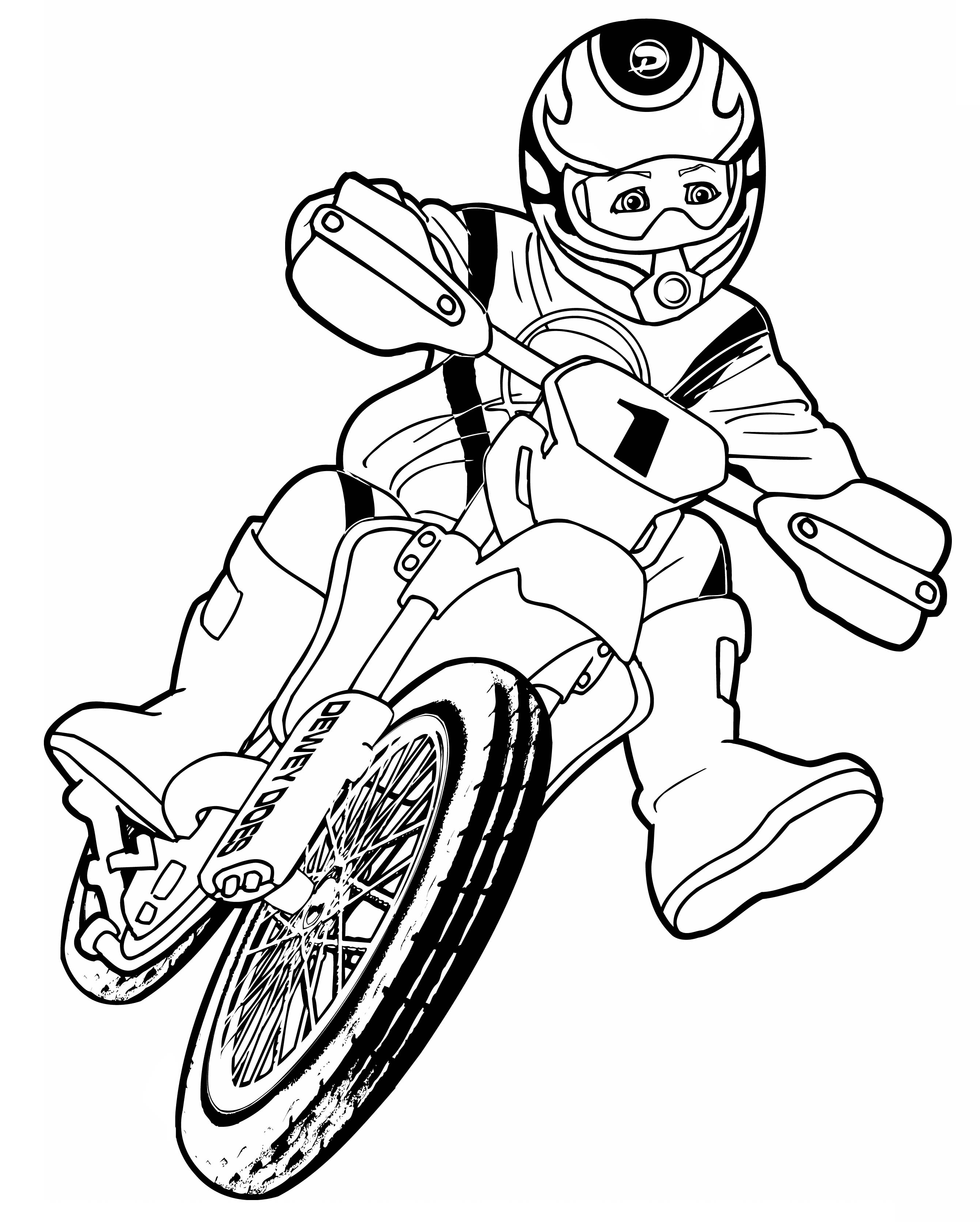2681x3341 How To Draw A Motorcycle