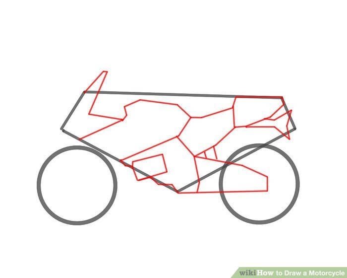 700x560 Motorcycle Drawing Simple Hobbiesxstyle