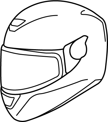 369x419 Motorcycle, Drawing, Face, Transparent Png Image Clipart Free