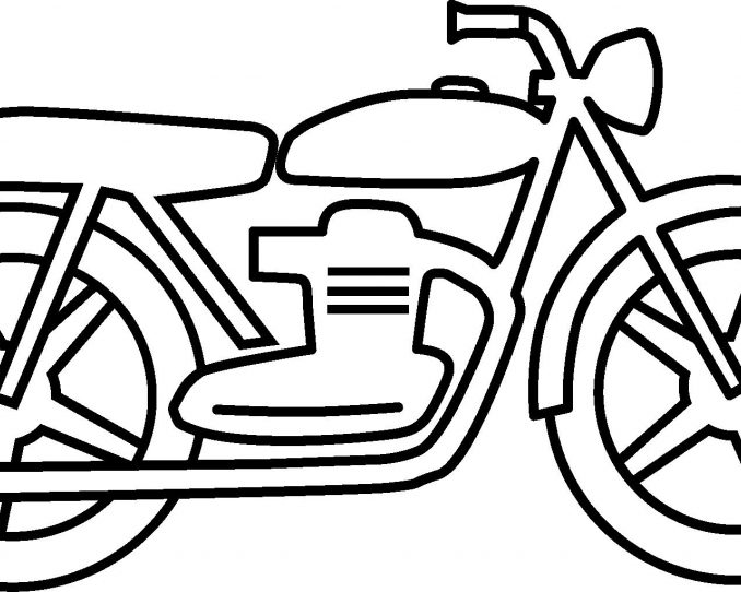 678x542 Motorcycle Drawing For Kids Motorcycle Drawing For Kids