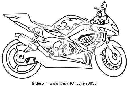 450x304 Printable Motorcycle Coloring Pages Motorcycle Coloring Pages
