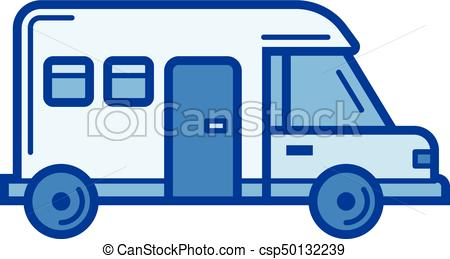450x259 motorhome line icon motorhome vector line icon isolated on white