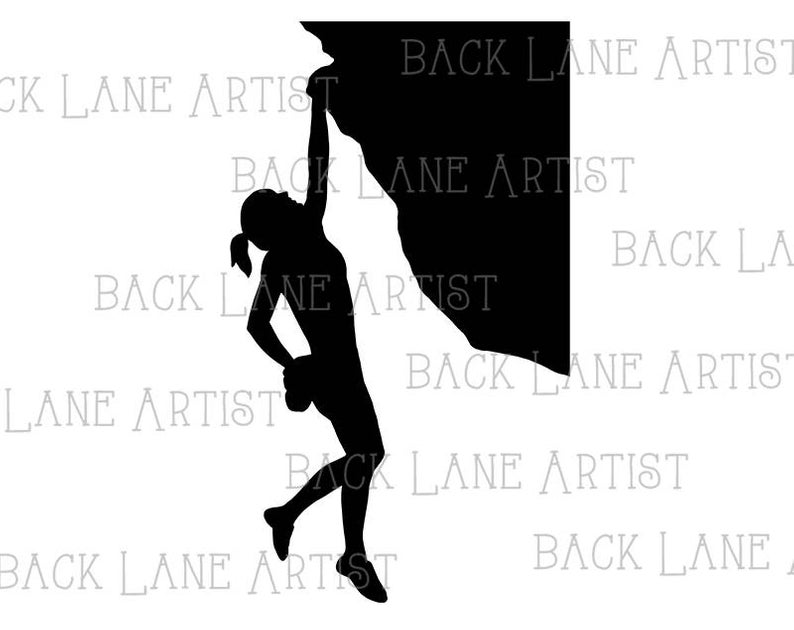794x630 Rock Climbing Mountain Climbing Sports Silhouette Clipart Etsy