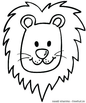 354x425 mountain lion coloring pages how to draw mountain lion lion