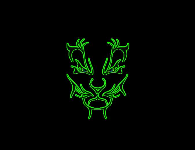 674x518 mountain outline mysoti beammedown 'mountain lion lines neon