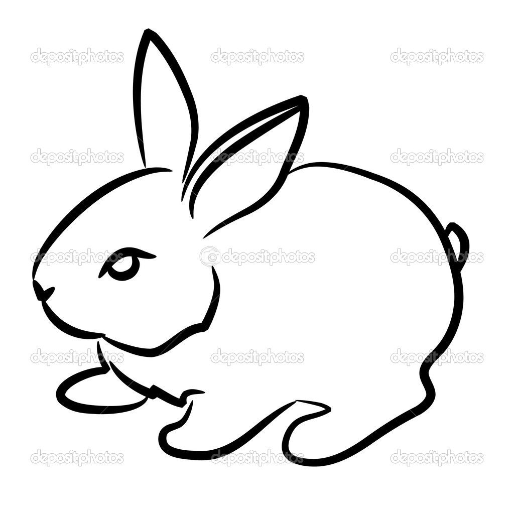 1024x1024 Bunny Drawing Mouth For Free Download