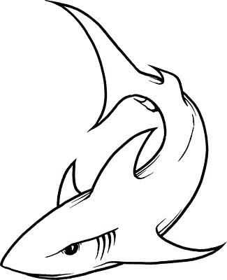 325x400 Easy Draw Shark How To Draw Shark Mouth