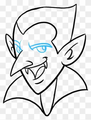 320x421 How To Draw Vampire