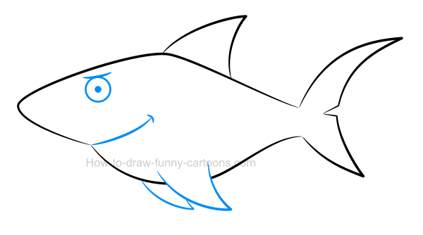 600x334 How To Draw A Shark Picture