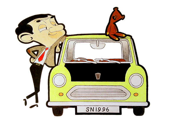Mr Bean Drawing | Free download on ClipArtMag