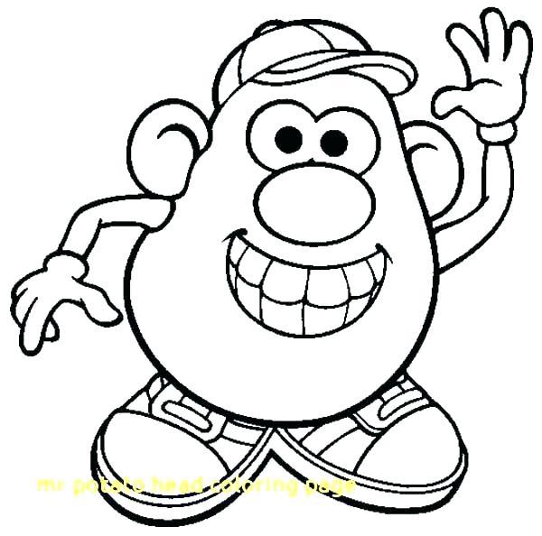 600x594 potato head coloring pages potato head coloring pages potato head
