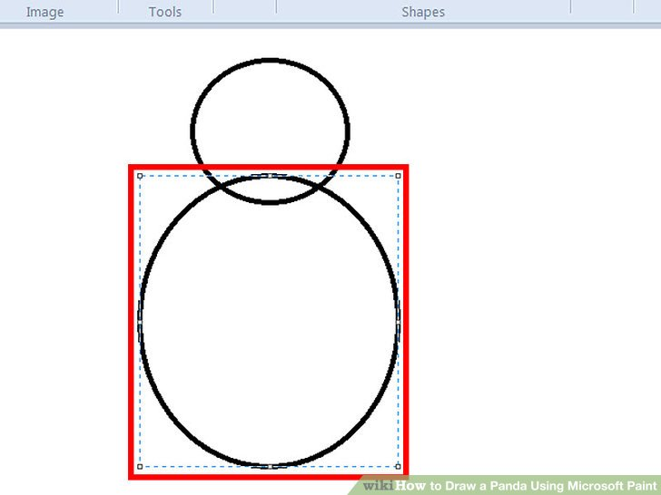 728x546 How To Draw A Panda Using Microsoft Paint Steps