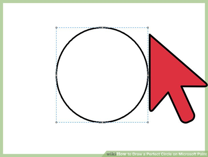 728x551 How To Draw A Perfect Circle On Microsoft Paint Steps