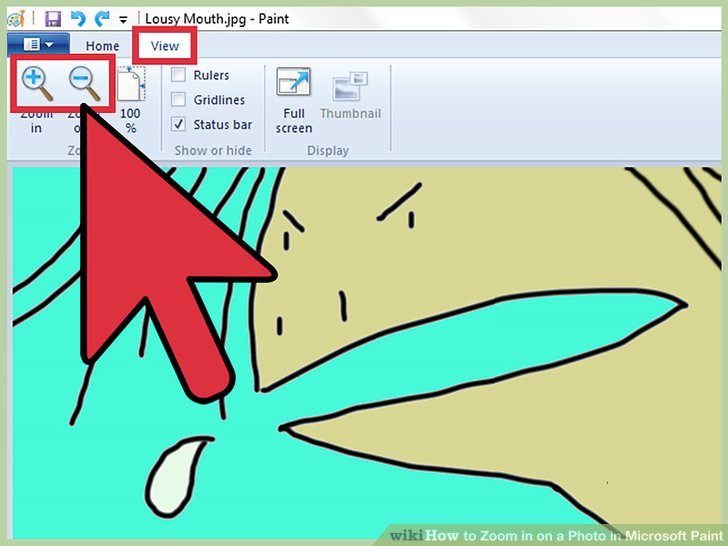 728x546 How To Zoom In On A Photo In Microsoft Paint Steps