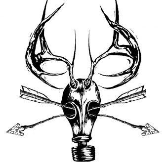 336x336 Deer Face Drawing Easy Baby Cool Mule Head Antlers Pencil I