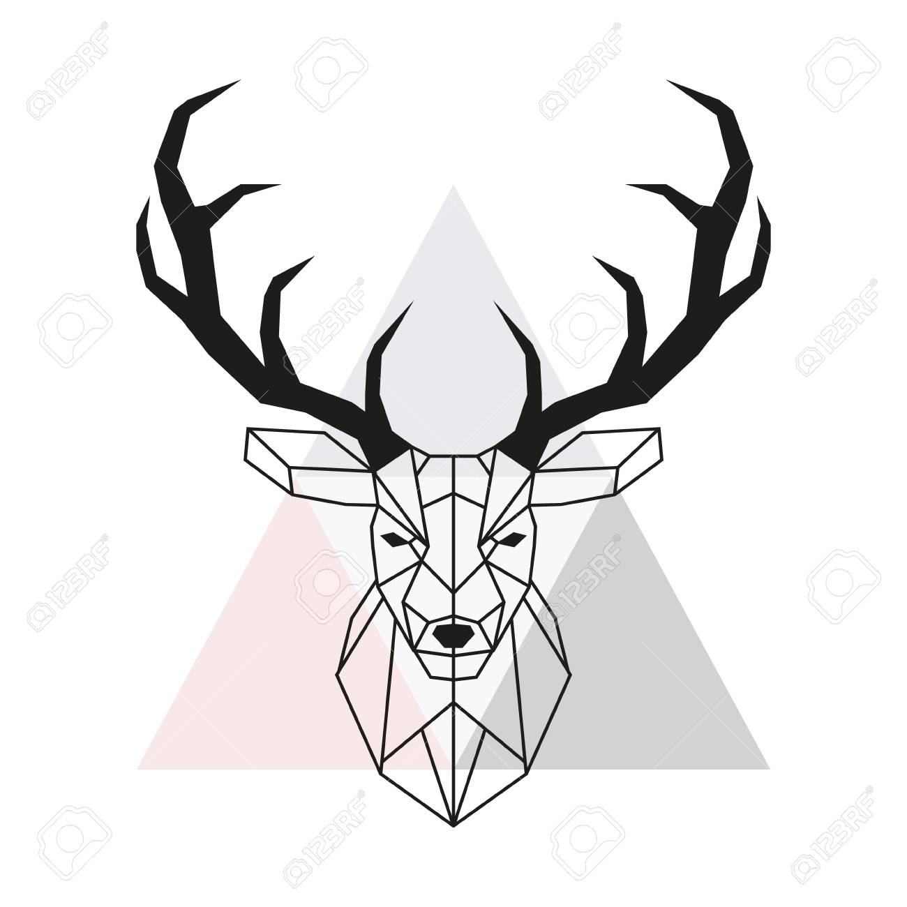 1300x1300 Huge Collection Of 'deer Drawing' Download More Than Images