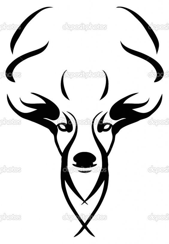 564x815 Deer Skull Clipart Look At Clip Art Images