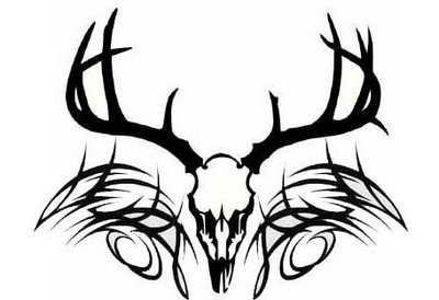 400x274 Deer Skull Drawing Earth Clipart Charte