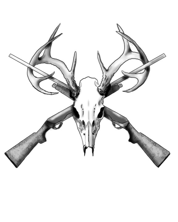 576x720 Easy Deer Skull Tattoos Ideas And Designs