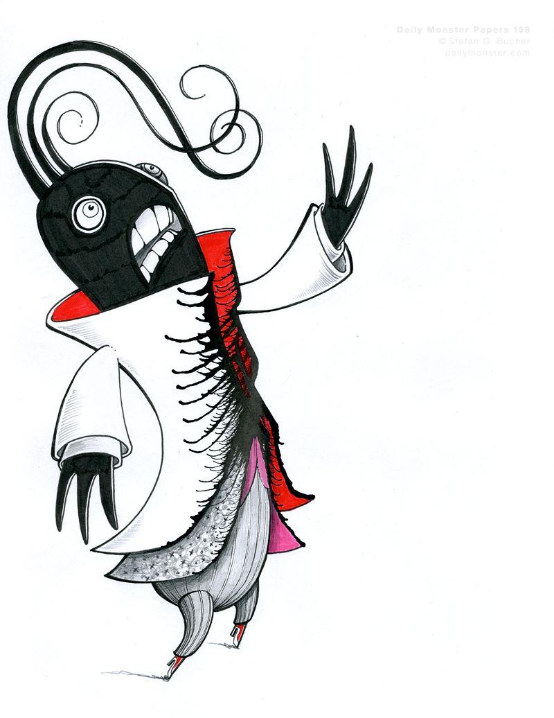 800x1036 daily monster art monster art, monster drawing, art