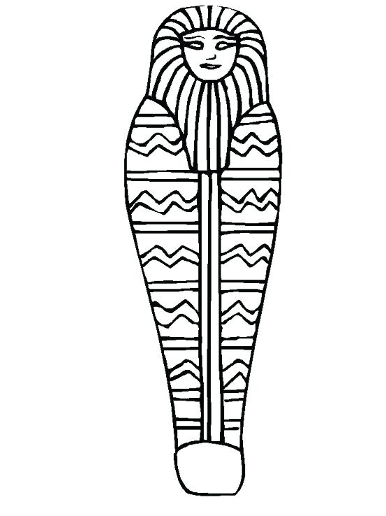553x738 egyptian mummy coloring pages mummy coloring