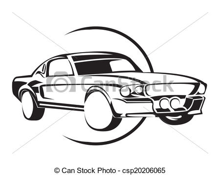 450x359 Collection Of Free Acrasy Clipart Muscle Car Download On Ui Ex