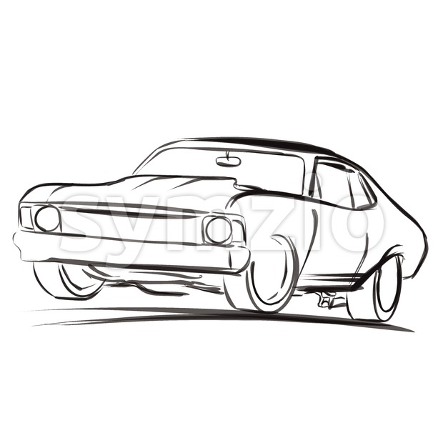 620x620 Muscle Car Clipart Free Clipart