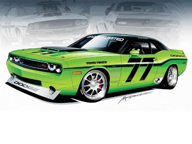 640x480 Muscle Car Hot Rod Drawings