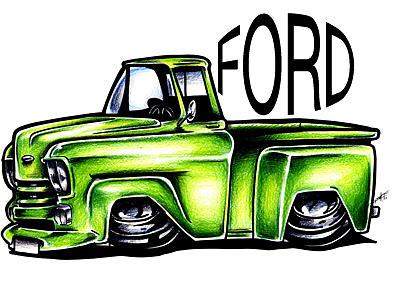 400x292 Muscle Car Clip Art Image