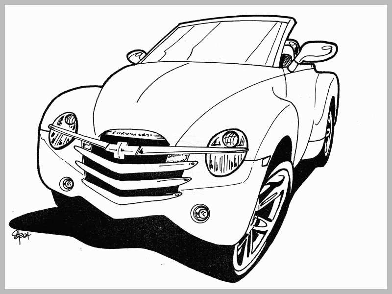 800x600 Classic Car Coloring Pages Admirably The Gallery For Old Muscle