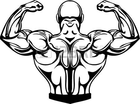450x333 Muscle Cartoon Bodybuilding And Powerlifting